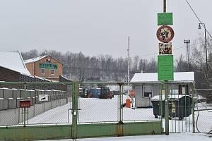 Mateřský areál firmy Hopr v Zábřehu v Cihlářské ulici.