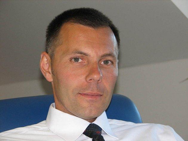 Ředitel jesenické policie Tomáš Kužel.