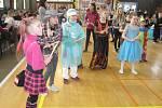 Školní maškarní ples v Zábřehu