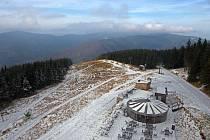 Sníh v Koutech nad Desnou.