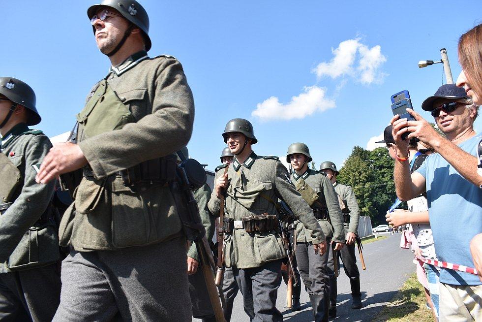 Bojová ukázka událostí začátku druhé světové války na Jesenicku.