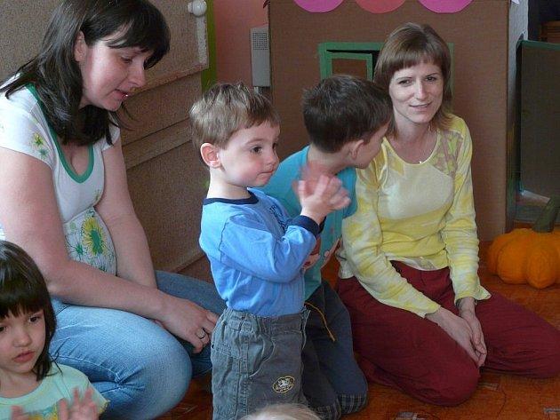 Snímek z mateřského centra Vikýrek ve Vikýřovicích