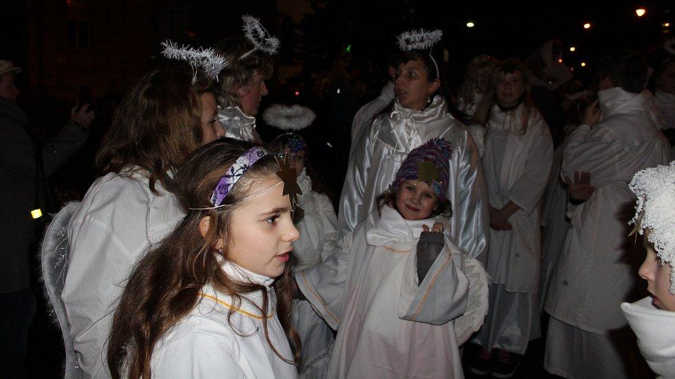 Mikulášský průvod v Šumperku 5. 12. 2017