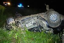 Tragická nehoda u obce Dolní Studénky