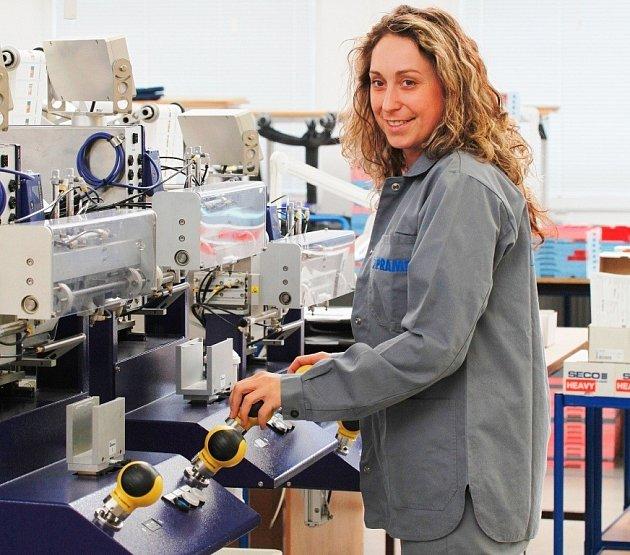 Výroba v šumperském podniku Pramet Tools.