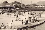 Šumperský rybník Benátky ve 30. letech minulého století