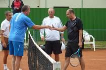 Z 25. ročníku tenisového turnaje Pro Kennex Cup v Šumperku.