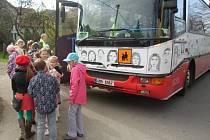 Školní autobus. Ilustrační fotografie.