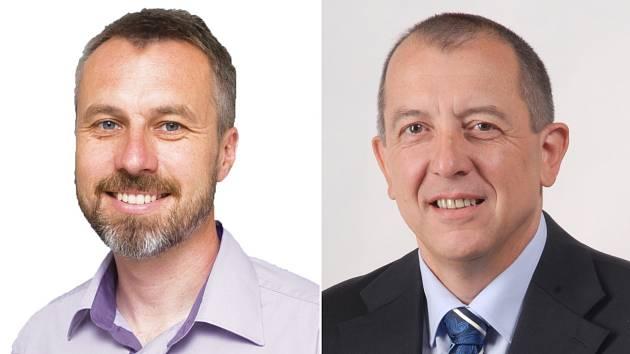 Souboj o Senát: Miroslav Adámek (vlevo) a Zdeněk Brož