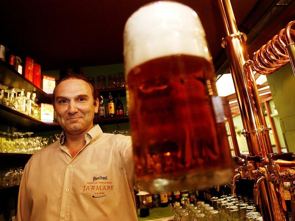 Pivo tradiční český nápoj