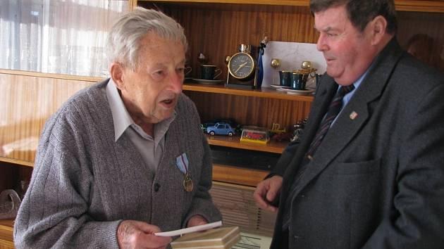 Miroslav Kalabus se dožil sta let.