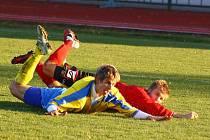 Šumperk versus Brumov (červené dresy)