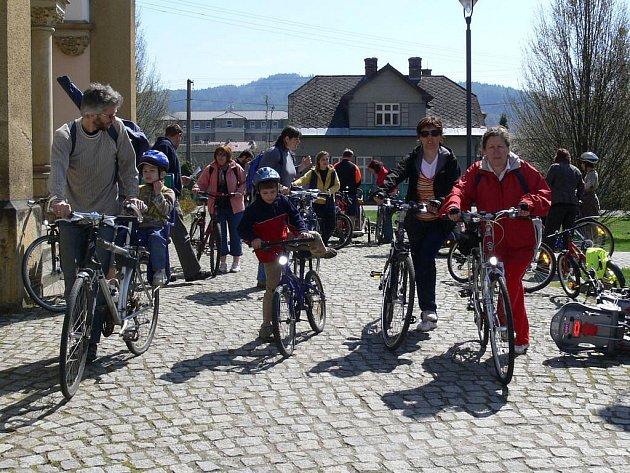 Účastníci Velikonoční jízdy