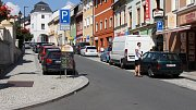 Současná podoba ulice Žižkova v Zábřehu.