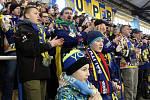 Fanoušci na zápase Šumperk vs. Poruba