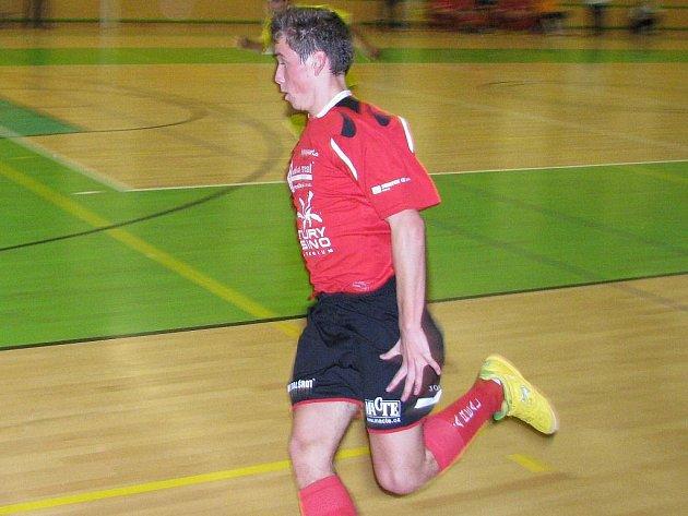 Šumperský futsalista Ladislav Václavský