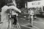 Oslavy 70. výročí Velké říjnové socialistické revoluce v Šumperku zachytila kamera Československé televize.