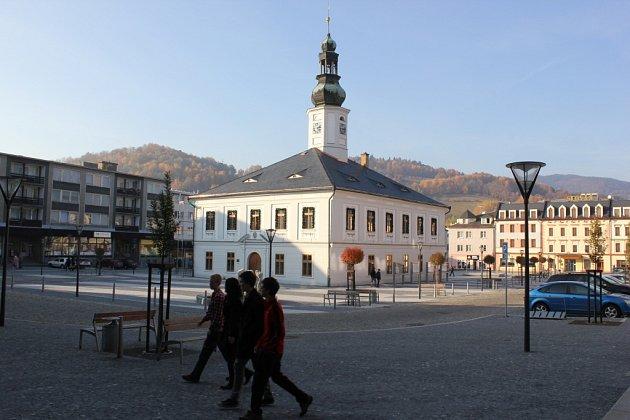Radnice v Jeseníku.
