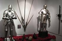 Z výstavy Putování středověkem