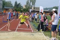 V pořadí dvanácté krajské kolo atletické Kinderiády se uskutečnilo v úterý 22. května na stadionu TJ Šumperk.