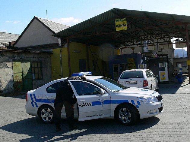 Celní správa uzavřela v pondělí 21. března dopoledne benzínovou stanici firmy VENA-TRADE v Jeremenkově ulici v Šumperku