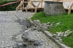 Současný stav zámku v Úsově
