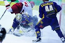 Draci na úvod skupiny nejlepších šesti týmů druhé ligy porazili doma Prostějov (bílé dresy)