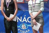 Andrea Holinková (vpravo).