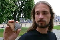Archeolog šumperského muzea Jakub Halama.