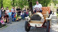 Vůz Maurer Union, který má Vyšší odborná a střední škola automobilní  v Zábřehu.