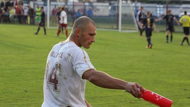 Fotbalový pohár: Mikulovice versus Sigma Olomouc.