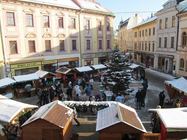 Vánoční Točák na archivním snímku.