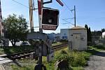Přejezd na ulici ČSA v Zábřehu v úterý 8. září ráno. V tu dobu již zabezpečovací zařízení fungovalo normálně.