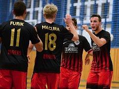Futsalisté jesenického Gamaspolu. Ilustrační foto