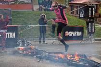 Extrémní překážkový závod Spartan Race na Dolní Moravě.