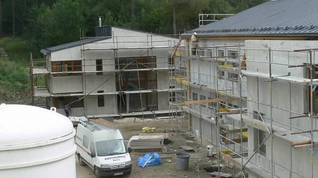 Výstavba dětského domova na Vyhlídce v Šumperku finišuje.