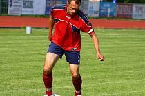 Hvězda Mikulovic Martin Proházska. Jestli přijede v sobotu do Mohlenice, to je ale otázka