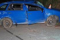 Nehoda na Hrabenovském kopci - 1. července 2021