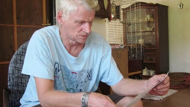 Jiří Kostelecký se soudí o odškodnění 3,5 milionu korun.