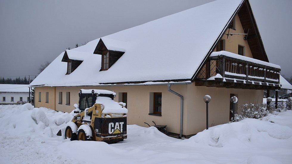 Ubytovací zařízení na Ramzové v sobotu 30. ledna.