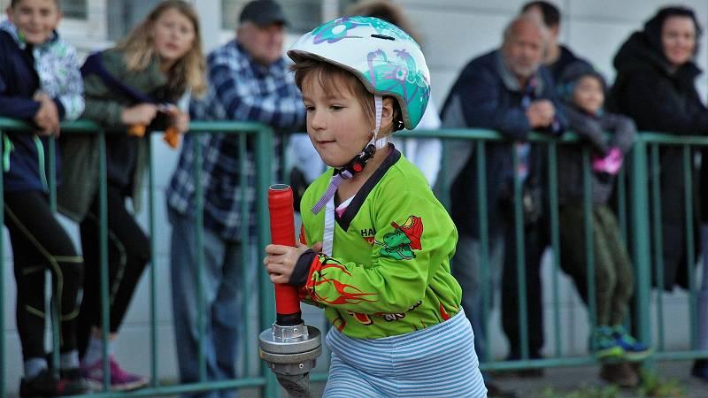 Mladí hasiči soutěžili v Šumperku na populárním Soptíkovi. 9. října 2021