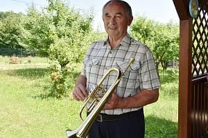 Kapelník Rohelanky Josef Siegel.