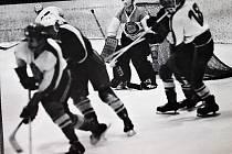 Divizní boje. Další souboj mezi šumperským týmem a Tatra Studénka 18. ledna 1972 skončil 4:1.