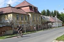 Budova bývalé manufaktury v Šumperku, stav k 8. srpnu 2019