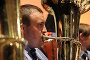 Koncert ke 20. výročí Dechového orchestru Základní  umělecké školy v Zábřehu.