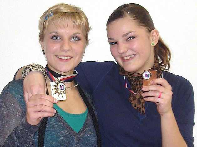 Děvčata z klubu Fitactive Team DDM U Radnice Šumperk