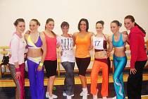 Šumperské dívky z klubu Fitactive team