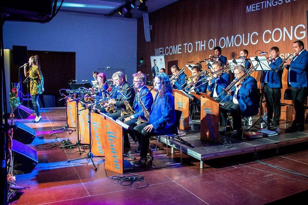 Koncert Moravia Big Bandu Zábřeh v září 2020.