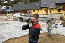 V Petříkově chystají bobovou dráhu.