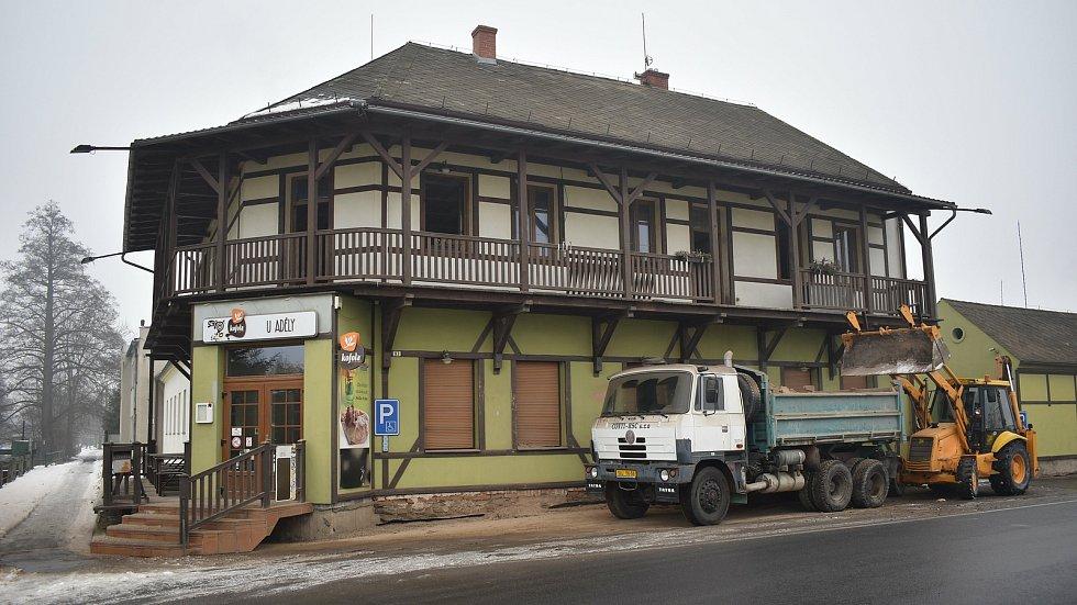 Sudkov - bývalá restaurace U Adély.